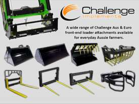Challenge CL334X-Green loader for the front of your John Deere 50-90 HP Tractor, Quality built  - picture2' - Click to enlarge