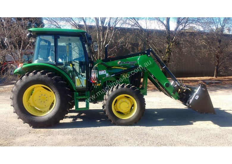 Challenge CL334X-Green loader for the front of your John Deere 50-90 HP Tractor, Quality built