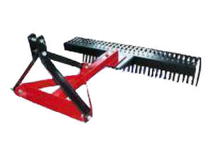 TRACTOR LANDSCAPE RAKE 1.2M W TO 45HP