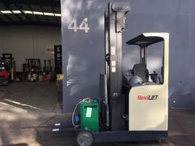Crown ESR4500 Ride On Reach Forklift Truck Refurbished & Repainted - picture0' - Click to enlarge