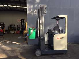 Crown ESR4500 Ride On Reach Forklift Truck Refurbished & Repainted - picture2' - Click to enlarge