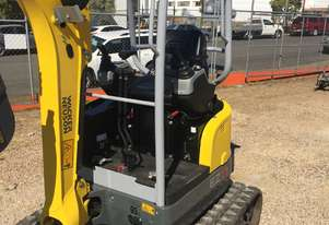 Wacker Neuson EZ17 Excavator with TILTING HITCH!!!