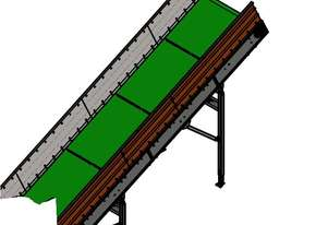 Telford Smith CY-6000-1480 Inclined Conveyor