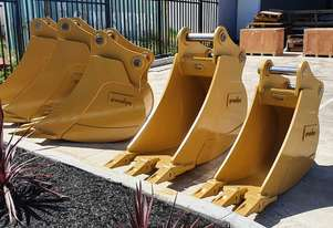 BRAND NEW IN STOCK 30t - 35t Excavator 900mm Bucket, Australian Made, Choice of Hitch, G.E.T, Colour