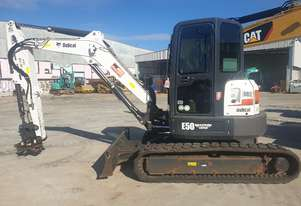 2017 BOBCAT E50 5T EXCAVATOR WITH LOW 1090 HOURS AND FULL CIVIL SPEC