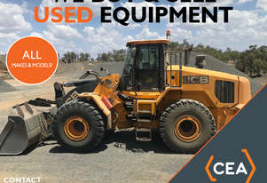 WE BUY USED WHEEL LOADER - ALL MAKES AND MODELS