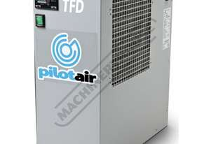 TFD-15 Refrigerated Compressed Air Dryer 1500L/min - (53cfm) Rated For Australian Conditions with Fl