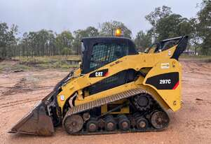 CAT 297C Full Size 94Hp MTL Compact Track Loader High Vertical Lift