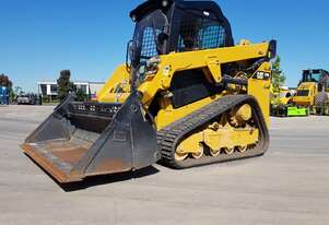 DEMO CAT 249D TRACK LOADER WITH FULL OPTIONS AND LOW 58 HOURS!