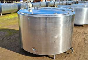 1,580lt STAINLESS STEEL TANK, MILK VAT
