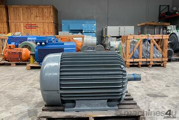 150 kw 200 hp 6 pole 990 rpm 415 volt Foot Mount 315 frame POPE AC Electric Motor Reconditioned