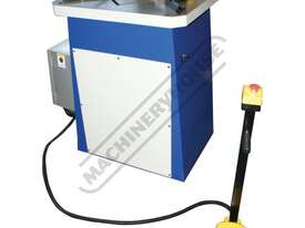 HN-220 Hydraulic Sheet Metal Notcher 200 x 200 x 4mm Mild Steel Capacity 200 x 200 x 2mm Stainless S - picture0' - Click to enlarge