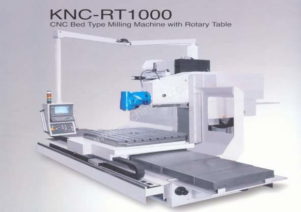 Kiheung KNC Series Bed Type CNC Mills