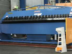 Heavy Duty Industrial 3200mm x 4mm NC Programmable Panbrake Folder with Calibrated Backgauge - picture0' - Click to enlarge