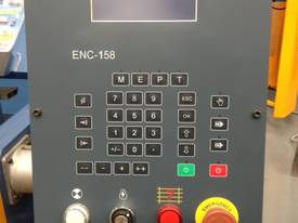 Heavy Duty Industrial 3200mm x 4mm NC Programmable Panbrake Folder with Calibrated Backgauge - picture2' - Click to enlarge