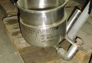 Fallsdell Laboratory Steam Jacketed Pan