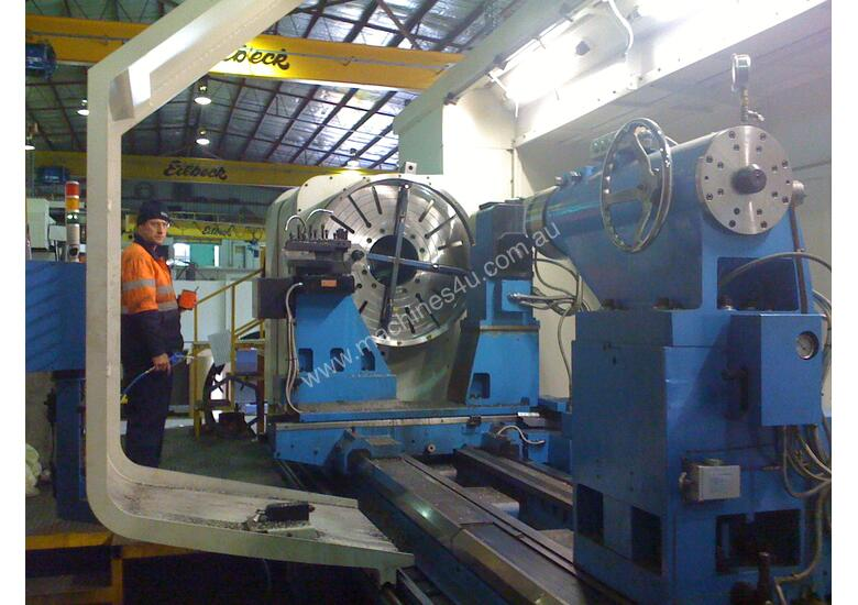 Kinwa Heavy Duty CNC lathes up to 2500mm swing.