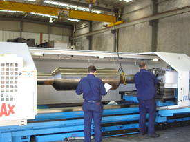 Kinwa Heavy Duty CNC lathes up to 2500mm swing. - picture0' - Click to enlarge