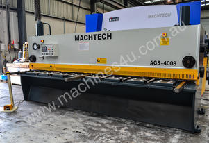 NEW Machtech AGS-4008 Variable Rake Guillotine