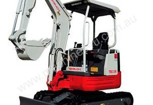 NEW TAKEUCHI TB23R 2.5T REDUCED SWING