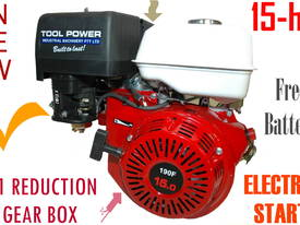 Engine with GEAR BOX 2:1,  15-hp, TOOL POWER++