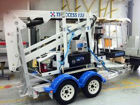 CTE TRACCESS 135 - 13m Spider Lift. Priced from $298 per week. - picture3' - Click to enlarge