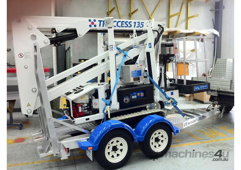 CTE TRACCESS 135 - 13m Spider Lift. Priced from $298 per week.