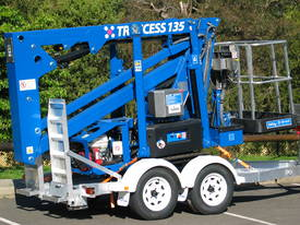 CTE TRACCESS 135 - 13m Spider Lift. Priced from $298 per week. - picture10' - Click to enlarge