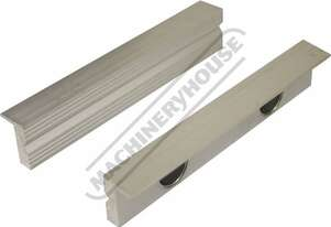 V0532 Aluminium Magnetic Soft Jaws Aluminium Face 150mm
