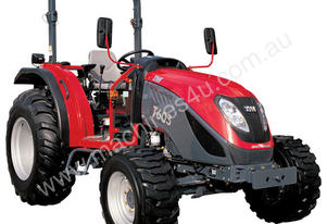 TYM T603 24/24 with 4in 1 loader 4WD ROPS