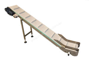NEW Inclined Cleated Conveyor.