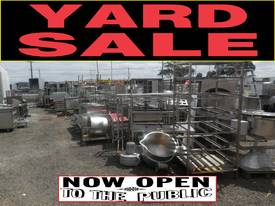 YARD CLEARANCE - SPARE PARTS ETC - CATERING EQUIP