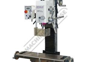 MH-28V Mill Drill - Geared & Tilting Head Table Travel: (X) - 430mm (Y) - 220mm (Z) - 355mm Electron