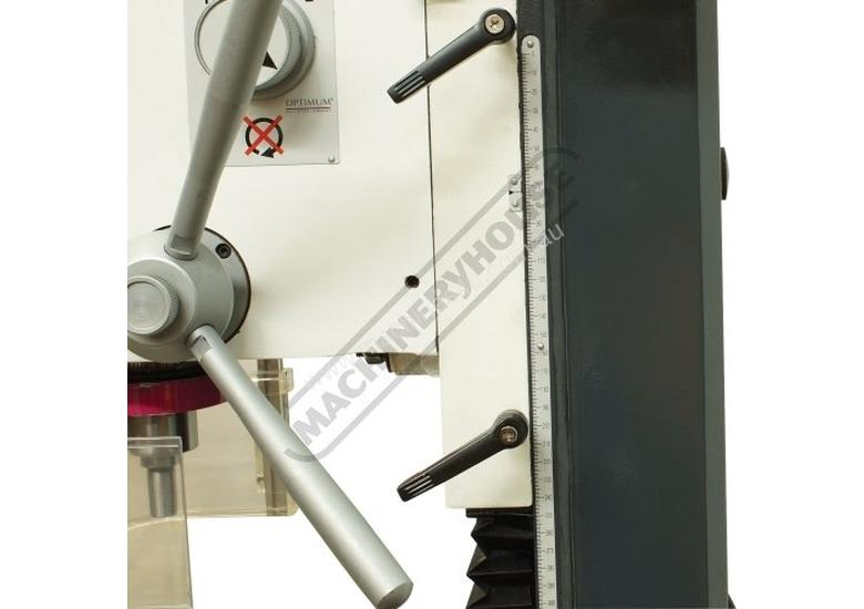 MH-28V Mill Drill - Geared & Tilting Head (X) 430mm (Y) 220mm (Z) 355mm Electronic Variable Speeds &