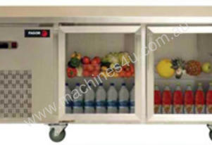 FAGOR 2 Glass Door SS Top Refrigerated Counter MGCR-180SGD