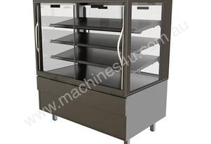 FPG 4C15-SQ-SD-I 4000 Series Refrigerated Integral Square Display Cabinet- Sliding Door - 1500mm