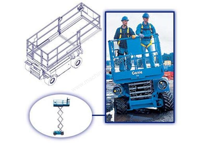 New genie GS-2668RT Rough Terrain Scissor Lift in , - Listed ... on