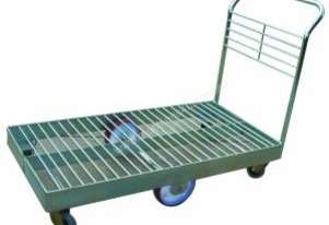 Single Deck Steel Wire Trolley 1200mm x 600mm