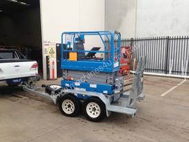 Genie GS1932 for sale with Bullant Trailer - picture0' - Click to enlarge
