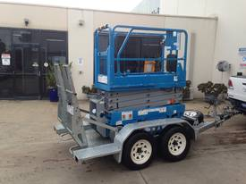 Genie GS1932 for sale with Bullant Trailer - picture6' - Click to enlarge