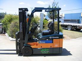 TOYOTA 7FBE18 with NEW TYRES and NEW PAINT - picture0' - Click to enlarge