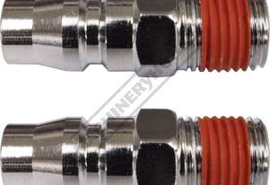 Male Adaptor High-Flow Air Fittings 1/4