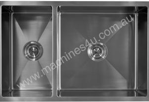 Alphaline UD785022 Stainless Steel Double Sink