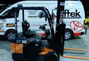 FORKLIFT  1.8 TON ELECTRIC TOYOTA 7FBE18 FORKLIFT