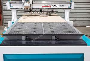 CNC 1325-H Router with 8 tools in line magazine