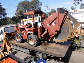 ditch witch 8020 rocksaw , 2000 model , 760hrs ,  - picture1' - Click to enlarge