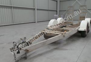 2015 Alloy Machine Trailer