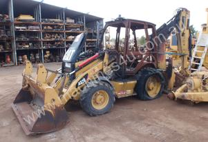 Caterpillar 432E Backhoe Dismantling