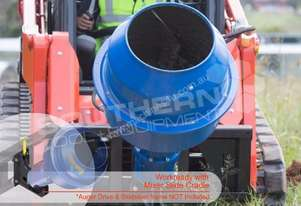 180L Cement Mixer 65mm Shaft suit Skidsteer ATTMIX