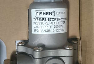Fisher 67CFR-226 pressure regulator